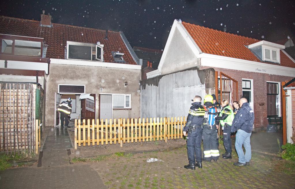 15-10-2016 Woningbrand na explosie Lange Poellaan Haarlem