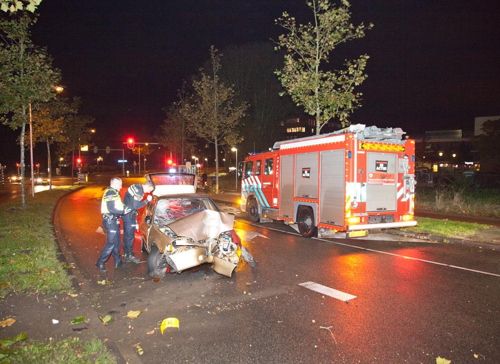 21-10-2016 Eenzijdig ongeval op de César Francklaan Heemstede